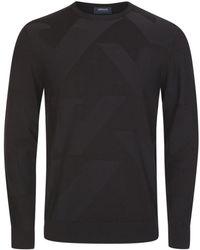 Armani - Jeans Aj Knitwear Black - Lyst