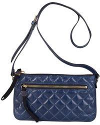 Moncler - Women's Francine Crossbody Bag Navy - Lyst