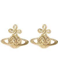 Vivienne Westwood - Simone Earrings Gold - Lyst