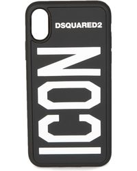 DSquared² Iphone X Cover Icon - Black