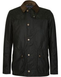 Barbour - Wight Wax Jacket - Lyst
