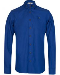 Vivienne Westwood - Two Button Shirt Blue - Lyst
