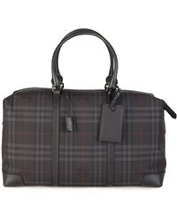 Burberry - Kingswood Weekend Bag Charcoal - Lyst