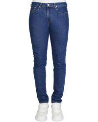 Paul Smith Mid Wash Jeans 32 Leg - Blue