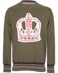 Vivienne Westwood Orb Logo Sweatshirt - Green