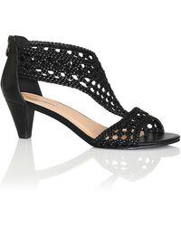 City Chic Carina Dressy Sandal - Black