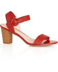City Chic Aveline Heel - Red