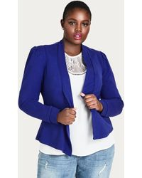 City Chic - Piping Praise Jacket - Lyst