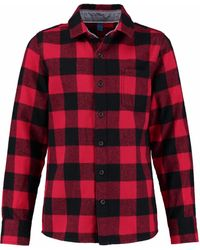 CKS Shirt Lange Mouwen - Rood