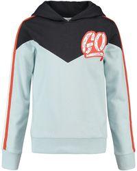 CKS Sweater Met Capuchon - Blauw