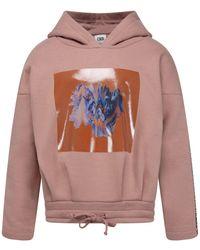 CKS Sweater Met Capuchon - Roze