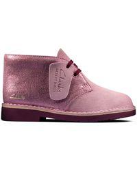 Clarks Desert Boot2 K - Morado