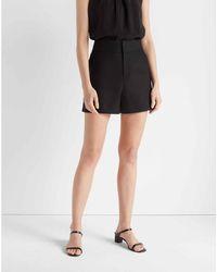 Club Monaco Black Refined Shorts