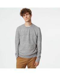 Club Monaco - Crew Sweatshirt - Lyst