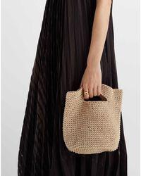 Club Monaco Tan Crochet Bag - Brown
