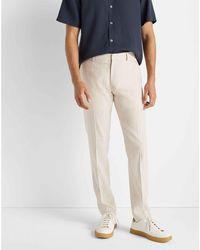 Club Monaco - Khaki Sutton Thin Stripe Trouser - Lyst