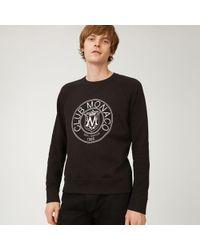 Club Monaco - Crest Essential Sweatshirt - Lyst