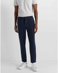 Club Monaco Blueberry Side-panel Pique Sweatpants