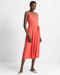 Club Monaco - Cochineal Jadrien Knit Dress - Lyst