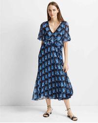 Club Monaco - Geo Print Gostanzah Dress - Lyst