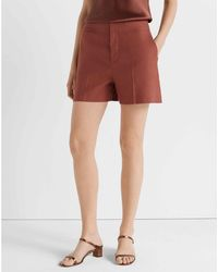 Club Monaco Rust Refined Shorts - Red