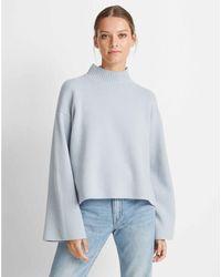 Club Monaco Pale Blue Lillean Cashmere Sweater