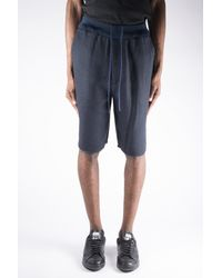 3.1 Phillip Lim 3.1 Knit Waistband Leisure Short - Blue