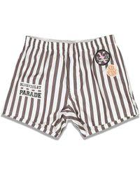Raf Simons Patched Boxer Shorts - Multicolour