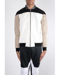 Les Benjamins Kaden Bomber Jacket - White