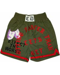 READYMADE Embroidery Boxing Shorts - Green