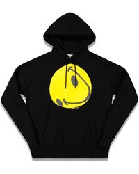 READYMADE Collapsed Face Hoodie - Black