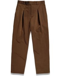 A_COLD_WALL* A-cold-wall* Tapered Nylon Pants - Brown