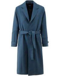 A_COLD_WALL* A-cold-wall* Heavy Weight Trench Coat - Blue