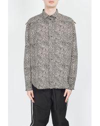 Damir Doma Sten Shirt - Grey