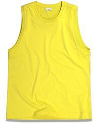 Dries Van Noten Heneta Top - Yellow