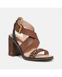 COACH Mandy Sandal - Multicolor