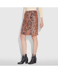 COACH - X Keith Haring Embellished Skirt - Lyst