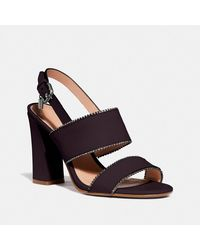 COACH Rylie Sandal - Brown