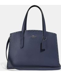COACH - Charlie Carryall With Crystal Rivets - Lyst