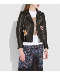 COACH - X Keith Haring Moto Jacket - Lyst