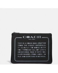 COACH - Large Multifunctional Pouch In Cordura® Fabric With Spray Storypatch - Lyst