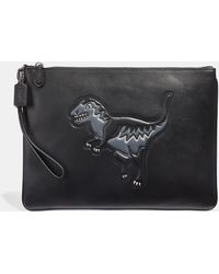 COACH - Pouch 30 With Rexy - Lyst