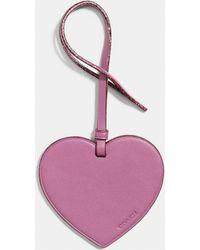 COACH - Heart Ornament - Lyst