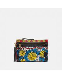 COACH Bolsa Academy Disney Mickey Mouse X Keith Haring - Multicolor