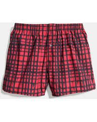 COACH Boxer Shorts - Red