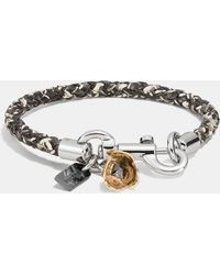 COACH - Charms Exotic Friendship Bracelet - Lyst