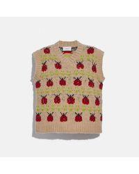 COACH Lady Bug Sweater - Multicolour