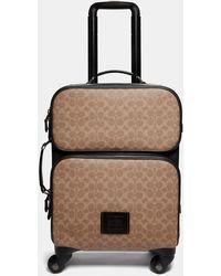 COACH Printed Suitcase - Black