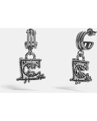 COACH - Triple Hoop Earrings By Guang Yu - Lyst