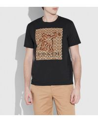COACH - X Keith Haring Signature T-shirt - Lyst